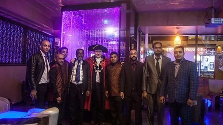 The team at Spice Valley in Magdalen Street with the Lord Mayor of Norwich Credit: Spice Valley