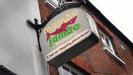 Mambo Jambo restaurant is at the centre of a debate about the use of language. Picture: ANTONY KELLY