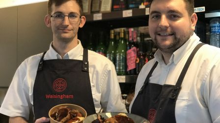 A brand new Walsingham Farm Shop has opened in Norwich's Market. Picture: Victoria Pertusa