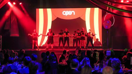 OPEN Youth Trust held a circus-themed fundraising dinner, which raised 26,000. Photo credit Simon Fi