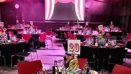 OPEN Youth Trust held a circus-themed fundraising dinner, which raised £26,000. Photo credit Simon F