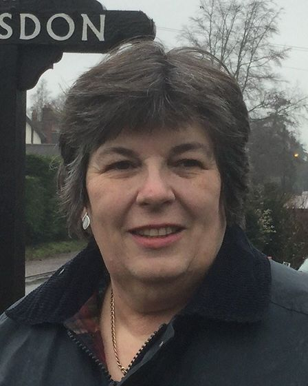 Shelagh Gurney, county and district councillor for Hellesdon. Pic: Norfolk Conservatives.