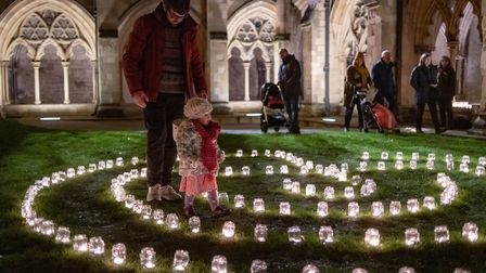 Hundreds of people gathered at Norwich Cathedral for the annual Advent Open Evening and Advent Proce