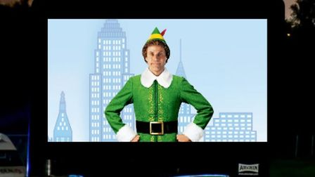 Elf will be shown at the Christmas drive-ins Credit: Pop Up Pictures