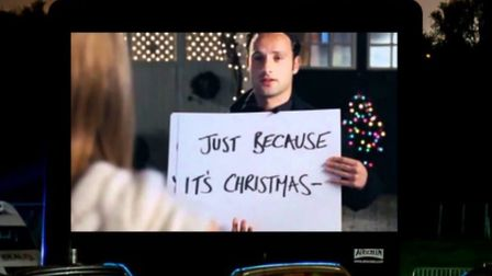 Love Actually will be shown at the Arminghall car boot site Credit: Pop Up Pictures