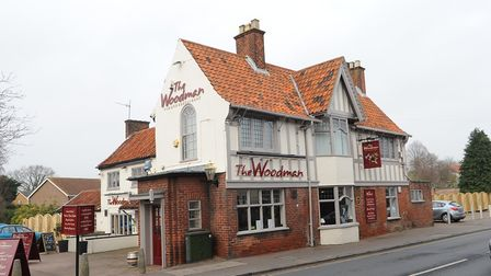 Evening News pub of the week, The Woodman on North Walsham road, Norwich.Photo by Simon Finlay