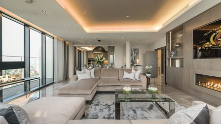How one of the homes at the revamped Anglia Square could look. Pic: Weston Homes/Grant Frazer
