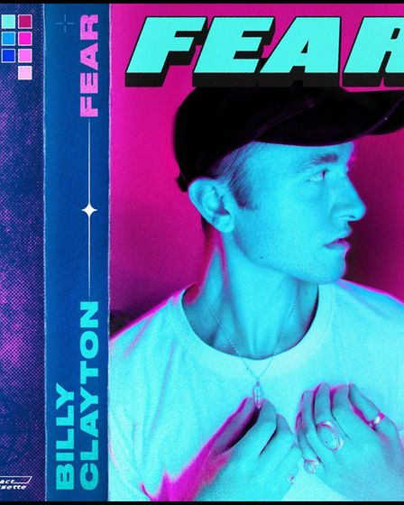 The artwork for Billy Calyton's new single Fear. Photo: Billy Clayton