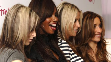 All Saints (left-right) Nicole, Shaznay, Natalie and Melanie ahead of a London gig in 2006 . Photo: