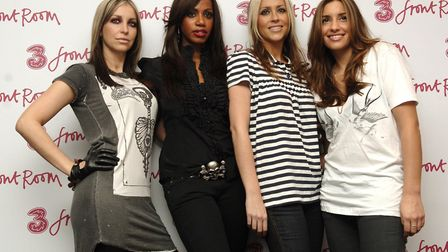 Reformed girl band All Saints (left-right) Nicole, Shaznay, Natalie and Melanie Blatt pose during a