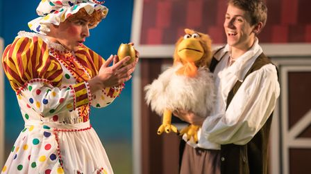 Jack and the Beansprout get the My First Panto treatment as All-In Productions and The Garage's Chri