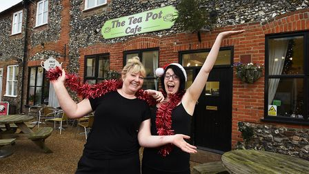 The Tea Pot Cafe in Swaffham is opening on Christmas Day to feed those in need. Owner Sandra Berryma