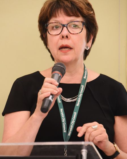 Laura McGillivray, chief executive of Norwich City Council. Picture: DENISE BRADLEY