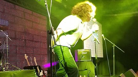 Daniel Wakeford performing in Norwich. Picture: Marc Betts