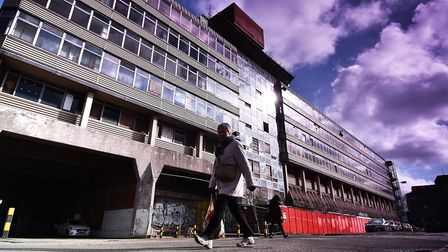 Sovereign House would be demolished under the proposals for Anglia Square. Picture: ANTONY KELLY