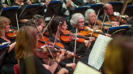 File photo of the Norwich Philharmonic Orchestra at St Andrews Hall. Photo: Bill Smith