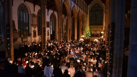 The EDP and Norwich Evening News Carols for Christmas service will take place at St Peter Mancroft C