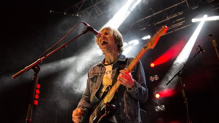The Xcerts supporting You Me At Six at The LCR in Norwich. Photo: Danielle Booden