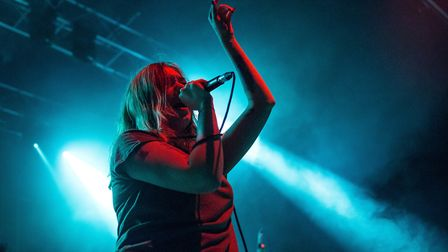 Marmozets supporting You Me At Six at The LCR in Norwich. Photo: Danielle Booden