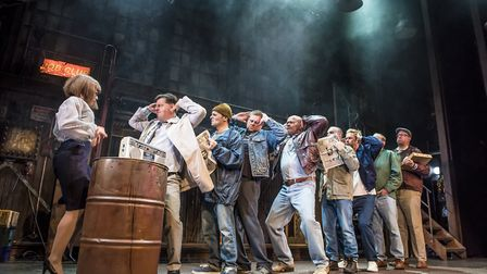 The cast of The Full Monty Credit: The Full Monty UK tour