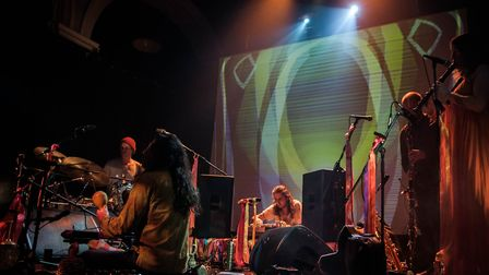 James Holden performing at Norwich Arts Centre. Photo: Paul Jones