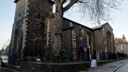 Vanishing Points exhibition at St Peters Hungate in Norwich Credit: Benjamin Craske