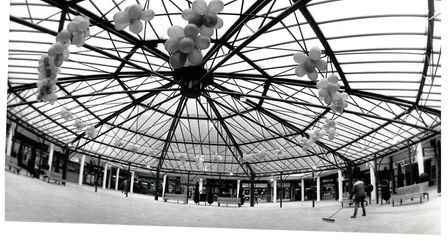 Anglia Square's new canopy in 1991. Pic: Archant Library.