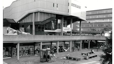 In 1988, Burford Group bought the square for £7.6m. Pic: Archant Library.