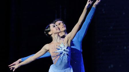 Russian State Ballet of Siberias Cinderella. Photo: Courtesy of Norwich Theatre Royal
