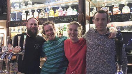 The team at The York Tavern in Norwich spent their last few days behind the bar encouraging customer