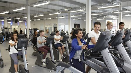 Users at The Gym, Norwich