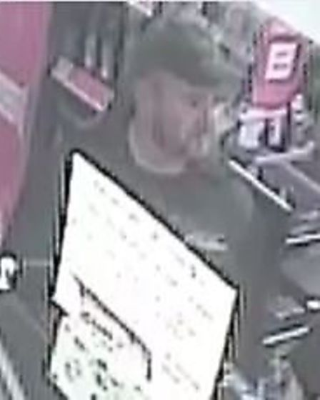 Police have issued CCTV images of a man they would like to speak to after a handbag was stolen from