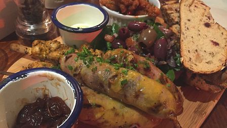 The meat platter at The Black Horse in Earlham. Photo: Lauren Cope