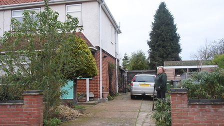The house with the 80-year-old secret, a World War Two air-raid shelter hidden away in the front gar