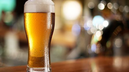 Glass of light beer in a pub. Picture: Getty Images/iStockphoto