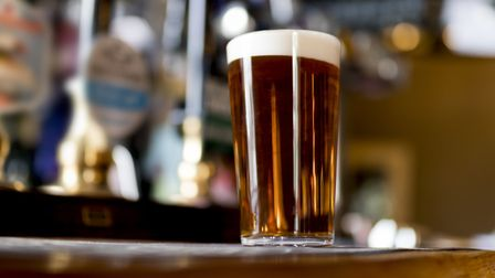 Pint of real ale on the bar in a pub Picture: Getty Images/iStockphoto