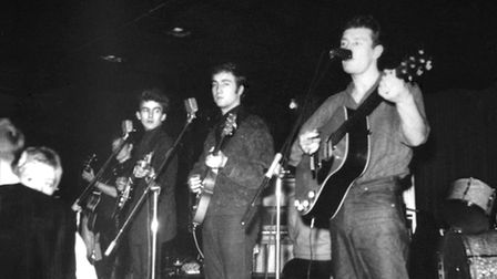 Tony Sheridan and The Beatles in Germany in the early 1960s