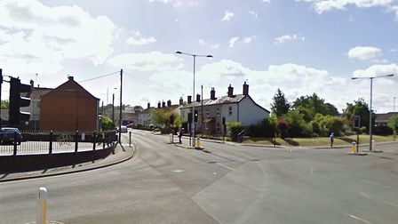 Norwich Road's junction with Thetford Road in Watton which is to close for six days. Picture: Google