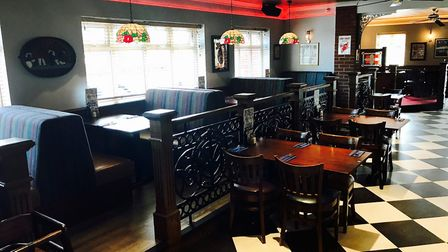 Fatso's American Grill on Salhouse Road, Norwich has reopened after a refurbishment. Photo by Kelly