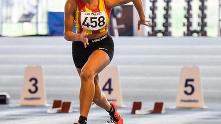 Serena competing. Picture: New Pixels Events Photography