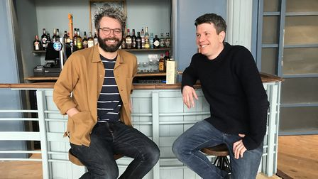 Sam Leonard (left) marketing manager and Jack Thompson (right) General manager, in the new upstairs