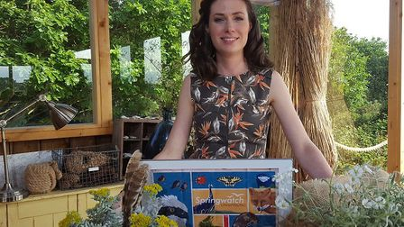 Lindsey Chapman, BBC presenter, who will be at the Big Garden Birdwatch event in Norwich this weeken