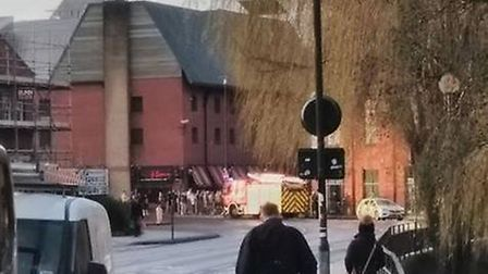 Norfolk Fire and Rescue Service have been called to Riverside following reports of a fire. Picture: