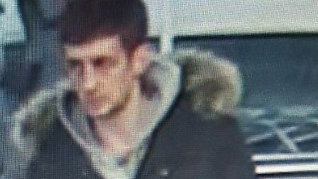 Police have released this CCTV image of a man they would like to identify following a theft from a s