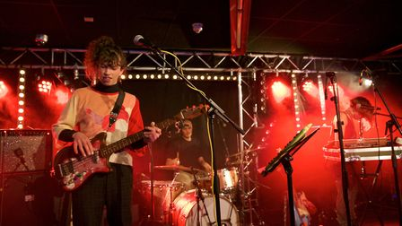 The Silver Field supporting Tim Burgess at OPEN in Norwich. Photo: Steve Hunt