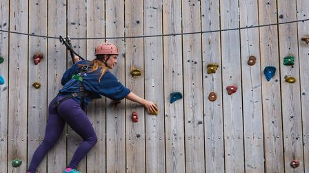 The NCS programme includes exhilarating outdoor challenges Picture: NCS