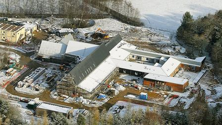 Work on the new hospice for East Anglia's Children's Hospices (EACH) near Norwich is nearing complet