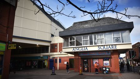 The group were near Anglia Square in Norwich when the man pulled out what seemed to be a gun. Pictur