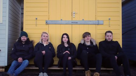 Local alternative rock band Telling Truths. Photo: Courtesy of Telling Truths