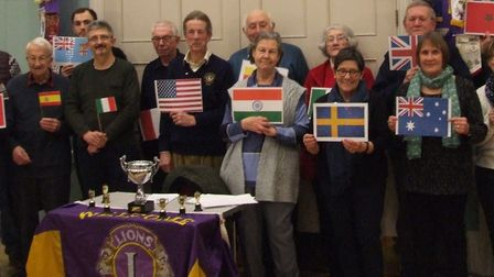 The 19 teams of over 100 people raised £1,060 for the Lions charity fund. Photo: Swaffham Lions